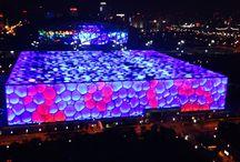 Olympic Games building in Beijing #beijing. / Olympic Games building in Beijing #beijing.