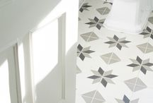 New handmade cement tiles by Maitland & Poate / New cement handmade encaustic cement tiles - traditionally made in Andalusia