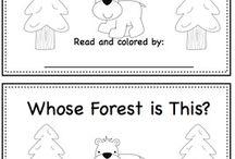 Forest Animals Preschool Theme