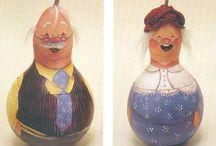 muñeco de calabazas