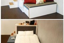 Itty Bitty Living Space / by Jessica Ketchum