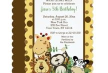 Jungle Birthdays