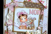Magnolia girls cards