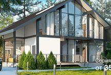 Фахверк в ЕКБ / Мы разрабатываем современные энергоэффективные дома Фахверк