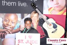 Kiss Country & St Jude Children's Research Hospital   / Country Music Lovers Support St Jude! Katheryn Foxx went to St Jude Hospital and met Country Musicians who also support St Jude Children's Hospital.     / by 96.5 Kiss Country
