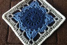 Crochet Granny / Preciosos motivos Granny