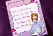 Sofia the First Party Ideas / by Disney Junior