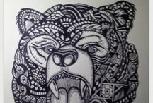 Zentangle / Zentangle and Doodles