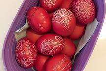 Milena Moneva Easter eggs