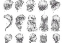 Hairstyles / hair care