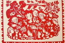 Music - Eddy Varekamp / Linocut and Stencilprints