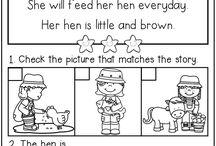 English: Reading comprehension