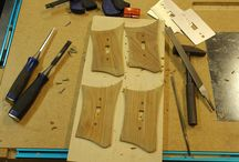 Midcentury home decor / I am building a replica of a midcentury modern light switch faceplate from a spare piece of teak