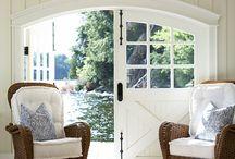 Summer house interiors ideas