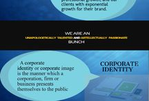 Corporate identity design services / We offer corporate identity design that ensures your company makes, not just a good impression, but the right impression. Corporate identity is the establishment of a set of visual rules, and these rules form your brand.