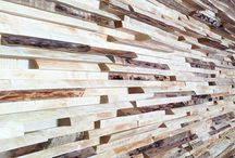 Wood wall / Inspiration IDEA