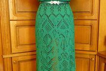 pletene šaty