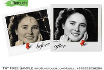 Restoration / URetouch Photos provide restoration services, by using this service you can bring your old or damaged photos back to life in a digital form. We have restored thousands of images. We have the expert team that can fix any damage and discoloration, and enhance the quality of your old images.