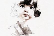 Kunst portretter
