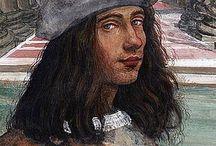 Итальянские художники сиенской школы живописи.