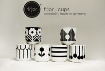 frjor . cups / porcelain . made in germany