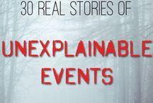 Unexplainable events