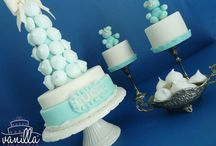 Christening or Wedding? / Cake and minicakes for christening