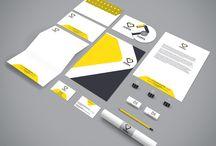 Logo and Corporate Identity Designs / BE-ADSTUDIO's creative corporate designs.