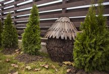 Wood Work / Garden decoration ideas - made by CorpConstruct Team