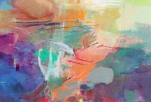 Abstract Art / Contemporary art featured n our Spring Show