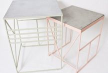 Tables and home accessories