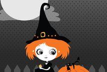 Halloween brujitas