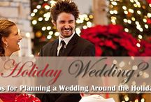 Holiday Wedding? Tips for Planning a Wedding Around the Holidays / It does take a little extra planning to make sure your guests will arrive and the holidays don't take over your special day.