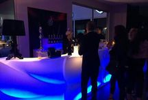 Event in exclusive bar catering