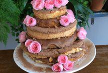 Comidas y tortas ricas / tortas divertidas o comidas trascendentales
