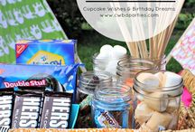 Backyard Camping Ideas / by Cupcake Wishes & Birthday Dreams