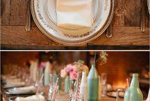 decoración mesa-wedding table decor