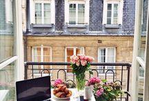 juliet balconies / by Hannah Brown