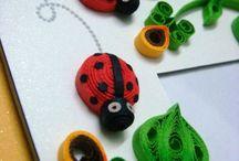 Quilling Ladybug