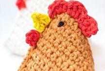 crochet pâque