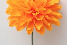 цветы из крепа