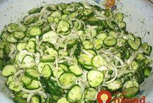 uhorkový šalát