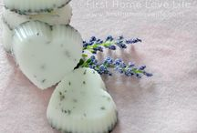 handmade lotions, potions, soaps and scrubs