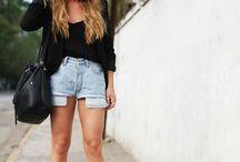 Clothes, woman, fashion