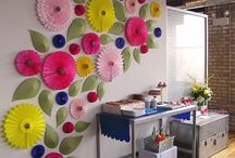 Flores de parede
