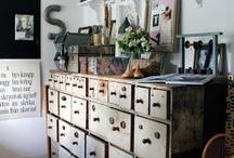 { Pysselrum ~ Craft room } / Pyssel, pysselrum, crafts, craft room, craft organization, DIY things, sewing studio, syrum