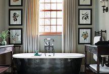 Wnętrza / Wystrój różnych domowych pomieszczeń.