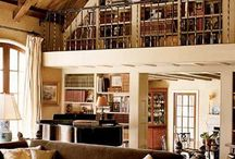 Library/Living Spaces / by Donna McBroom-Theriot