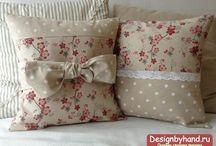 подушки из ткани