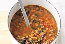 Soup=  Winter Warmth and Comfort / Soups